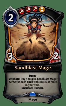 Sandblast Mage