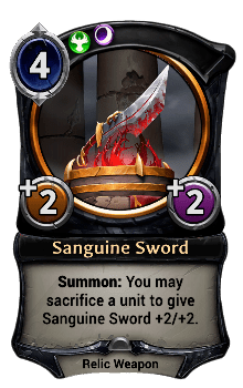 Sanguine Sword