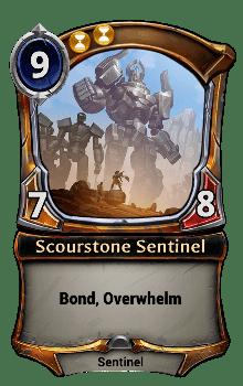 Scourstone Sentinel