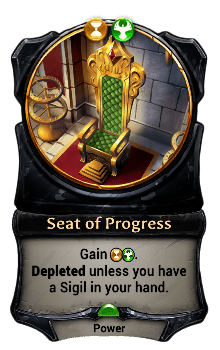 Seat of Progress