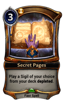 Secret Pages