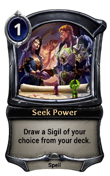Seek Power