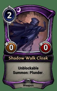 Shadow Walk Cloak