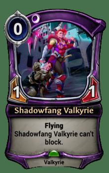 Shadowfang Valkyrie