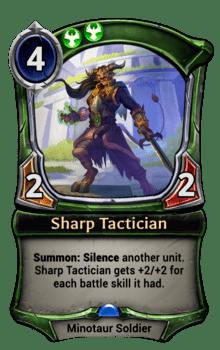 Sharp Tactician