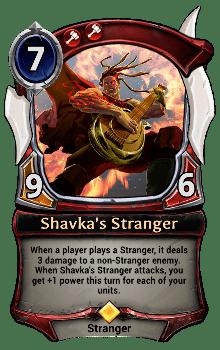 Shavka's Stranger