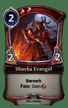 Shavka Evangel