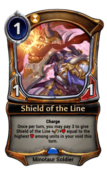 Shield of the Line