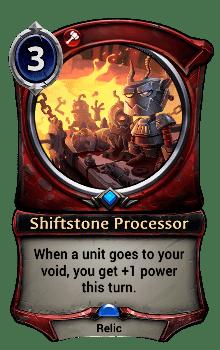 Shiftstone Processor