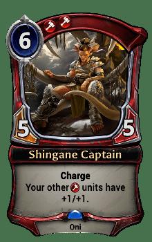 Shingane Captain