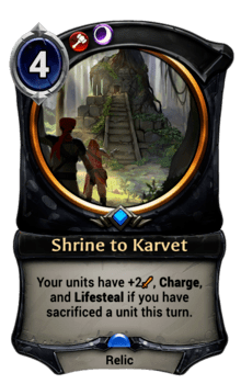 Shrine to Karvet