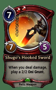 Shugo's Hooked Sword