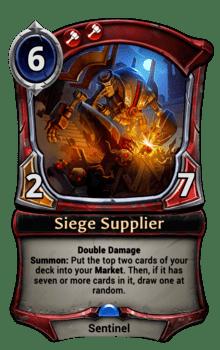 Siege Supplier