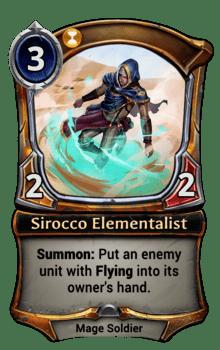 Sirocco Elementalist
