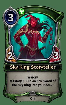 Sky King Storyteller