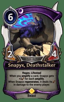 Snapyx, Deathstalker