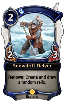 Snowdrift Delver