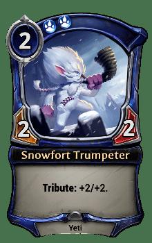 Snowfort Trumpeter