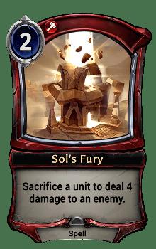 Sol's Fury