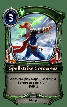 Spellstrike Sorceress