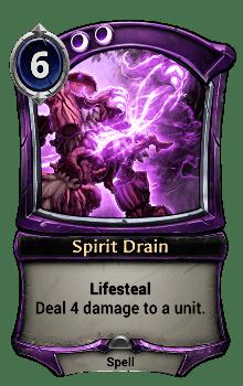Spirit Drain