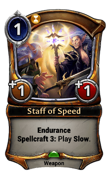 Staff of Speed