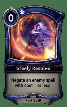 Steely Resolve