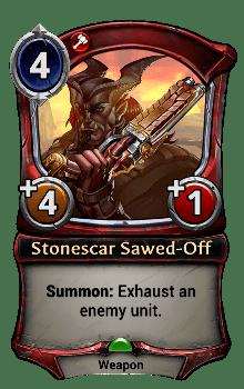 Stonescar Sawed-Off