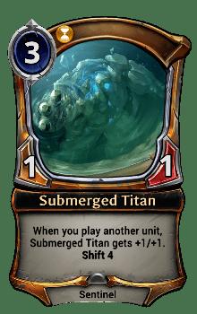 Submerged Titan