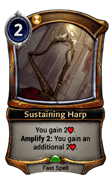 Sustaining Harp