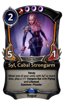 Syl, Cabal Strongarm