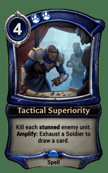 Tactical Superiority