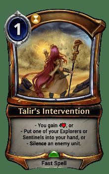 Talir's Intervention