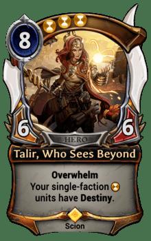 Talir, Who Sees Beyond