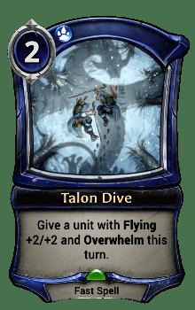 Talon Dive