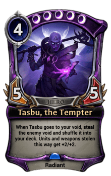 Tasbu, the Tempter