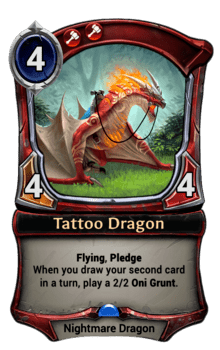 Tattoo Dragon