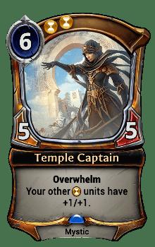 Temple Captain
