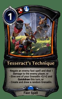 Tesseract's Technique