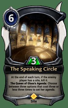 The Speaking Circle