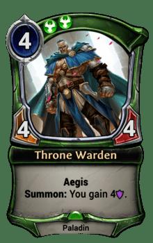 Throne Warden