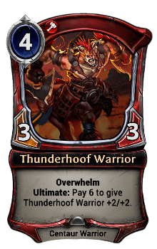 Thunderhoof Warrior