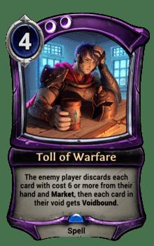 Toll of Warfare