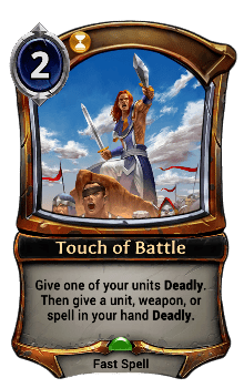Touch of Battle