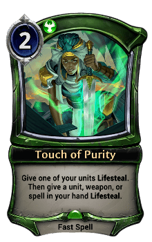 Touch of Purity
