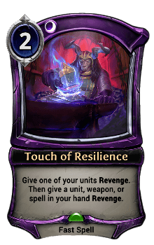 Touch of Resilience