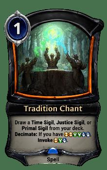Tradition Chant