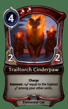 Trailtorch Cinderpaw