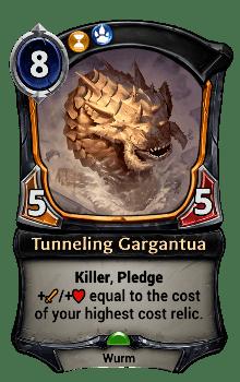 Tunneling Gargantua