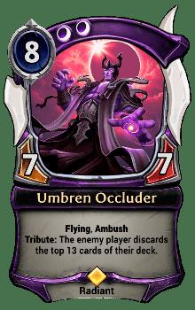 Umbren Occluder